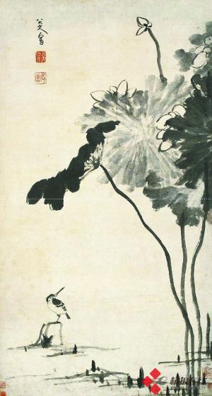 鸟简笔画小景图
