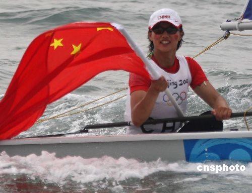资料图:中国帆船帆板女子激光雷迪尔级的领军人徐莉佳。