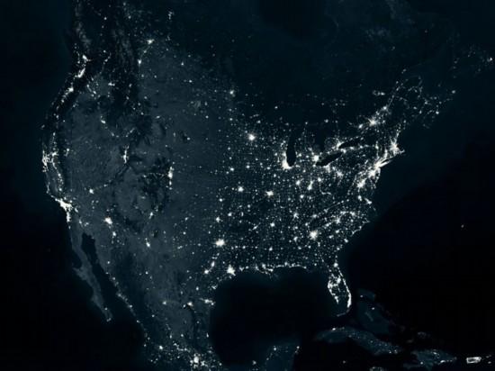 世界夜晚卫星地图_震撼地球夜景卫星图看各国能源使用(1)_科技频道_光明网-搜狐滚动