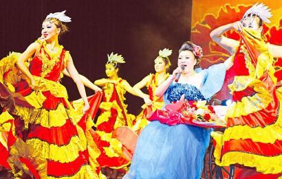 折翼天使笑傲飞翔 记太原龙城残疾人文化艺术团的演员们