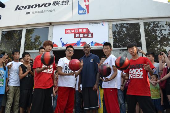 NBA视频篮球郑州站杰夫蒂格演讲最新互完美马云奉献2017国度图片