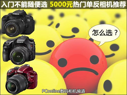 入门不能随便选 5000元热门单反相机推荐