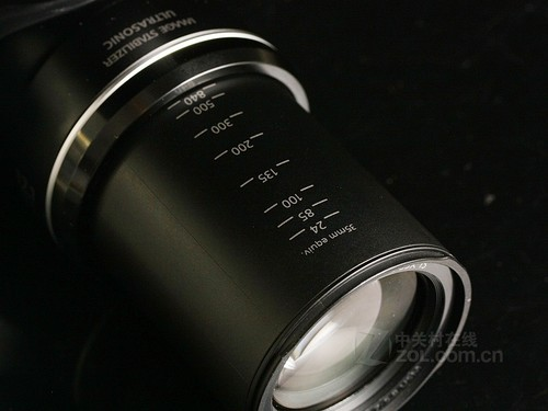 佳能 SX40黑色 镜头图