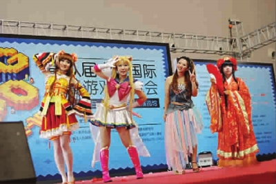 观众 cosplay/Cosplay大赛吸引众多观众 图TP