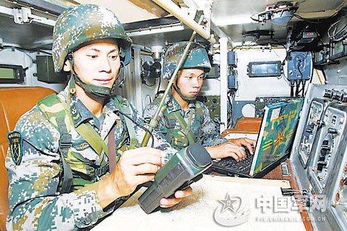 士官成为信息化尖兵。