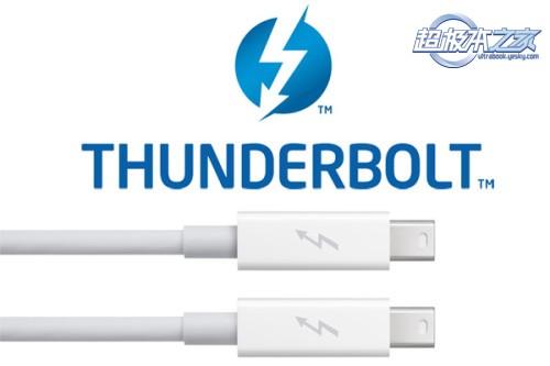 2014年Thunderbolt传输速率可达20Gbps