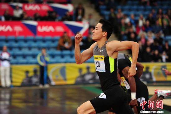 刘翔本周内可恢复跨栏训练 肋部伤痛恢复很乐观