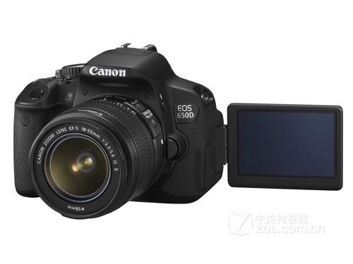 广角、长焦全搞定 佳能650D双镜头套机降