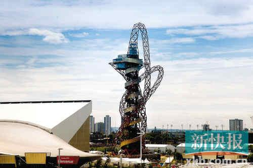 Arcelor Mittal Orbit瞭望塔是整个奥林匹克公园的标志性建筑之一,也是公园的最高点。