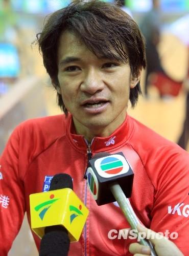 中国香港首席自行车手。