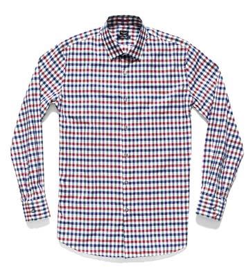 Paul Smith London 格纹棉布衬衫 RMB1130