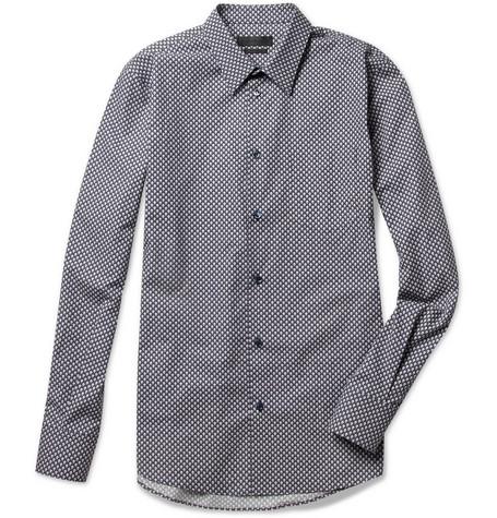 Alexander McQueen 复古波点衬衫 RMB3767