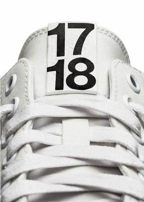 鞋舌上的号码