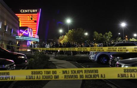 美国丹佛枪击案现场已被警方现场。