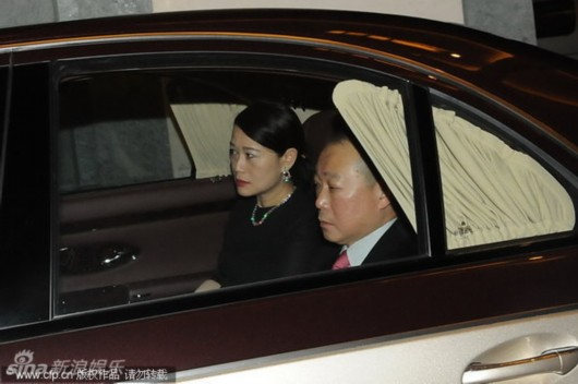 李嘉诚/香港打工皇帝霍建宁嫁女新娘霍尚怡