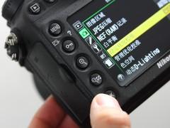 尼康 D800 放大按钮