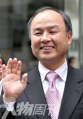 日本首富软银总裁孙正义