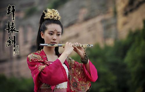 《轩辕剑》中刘诗诗虐戏颇多