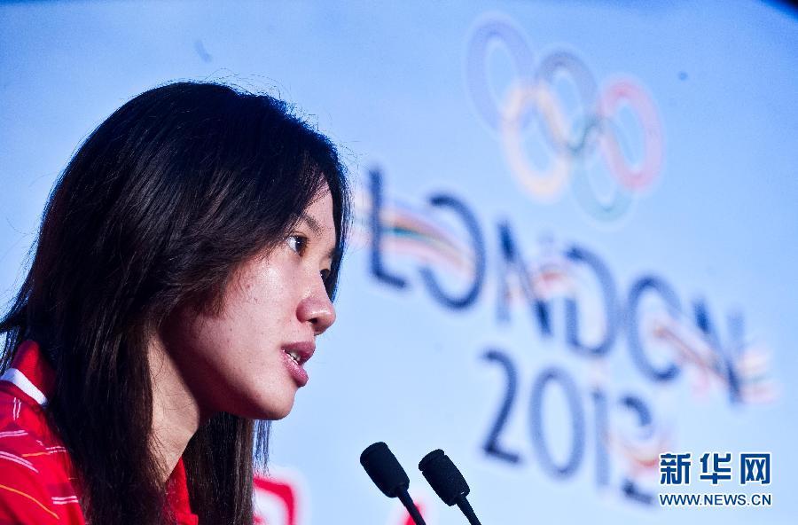伦敦奥运:为中国女子水球队壮行(组图)