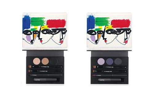 眼妆彩妆盘包括三包眼影、睫毛膏、眼线笔及化妆扫。($520)