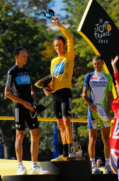第99届环法自行车赛在巴黎香榭丽舍大街圆满落下帷幕。英国天空车队的维金斯以87小时34分47秒获得本届环法大赛最后的总冠军。
