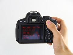 佳能 650D黑色 外观图