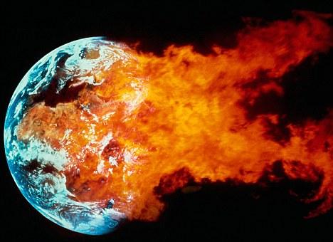 """科学理论称时间消失前地球或会被太阳""""撕裂""""(组图)图片"""