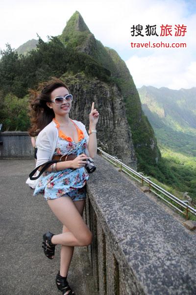 旅行拍照经典pose盘点-搜狐旅游