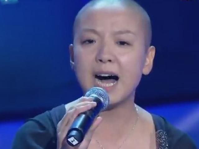 《中国好声音》光头女孩的梦想 要在音乐中寻找快乐