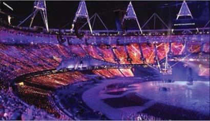 伦敦奥运开幕式的主题是:奇妙岛屿。 资料图片