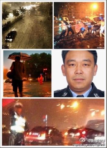 2012年7月北京遭遇特大暴雨