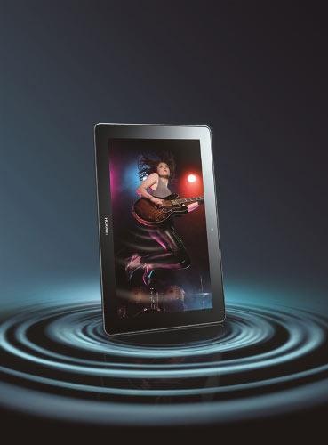 杜比5.1声道环绕声效系统,华为MediaPad 10 FHD带来影院级视听感受