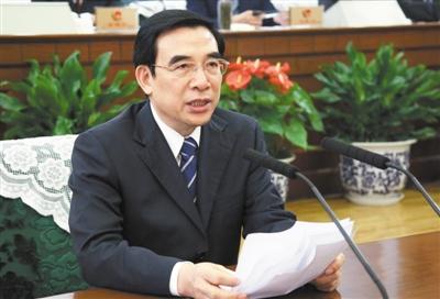 昨日,王安順被任命為副市長、代市長。新京報記者 吳江 攝