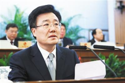 昨日,李士祥被任命為副市長。新京報記者 吳江 攝