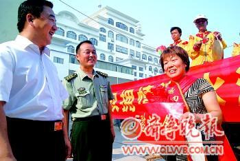 本报郓城7月25日讯(记者崔如坤通讯员刘昱杉)唢呐声声,锣鼓阵阵.