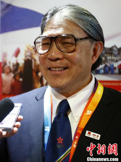 霍震霆寄望香港选手全力以赴 避答奖金话题