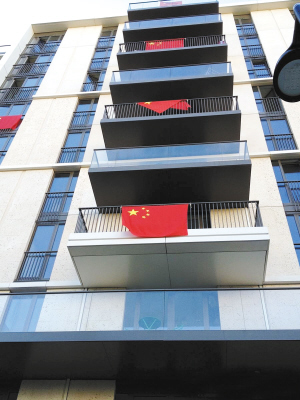 中国代表团公寓@易建联微博截图