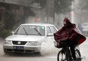 天津暴雨 气象台连续发布暴雨橙色预警