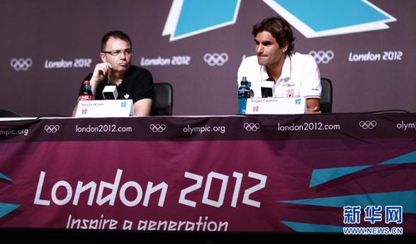 费德勒:奥运会最大的明星肯定不是我