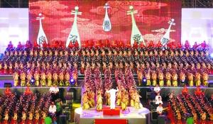 辽源:2012名选手合奏琵琶创吉尼斯世界纪录