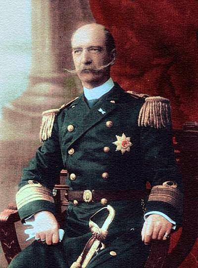 1896年雅典奥运会 乔治一世国王陛下