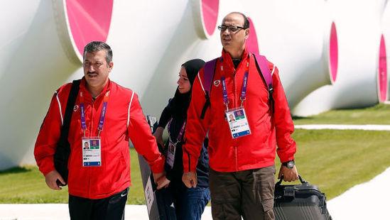 埃及代表团穿中国制造山寨运动服参加奥运图片