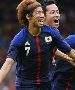 男足-大津祐树破门西后卫被罚 日本1-0胜西班牙