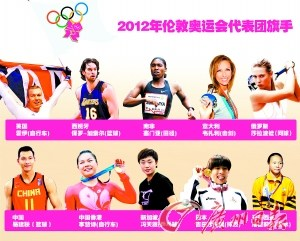 """各国选拔奥运旗手有""""秘方"""" 女性已撑起半边天"""