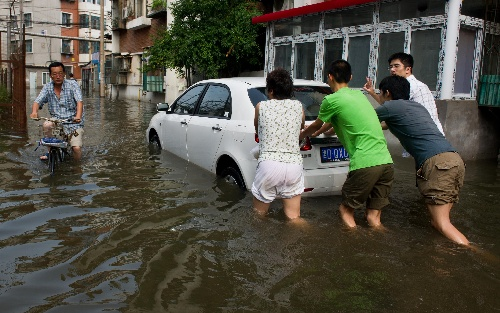 2012天津把暴雨玩死了