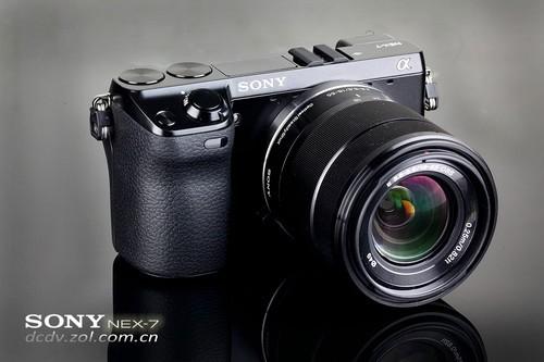 索尼 NEX-7 外观图