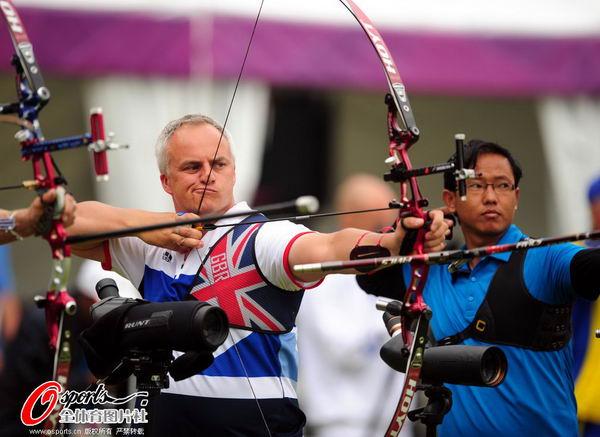 图文:中国代表团伦敦奥运首参战 西蒙-特里