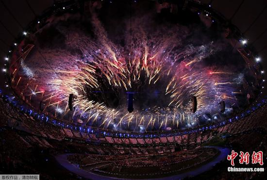 伦敦奥运:开幕一刻,世界在伦敦