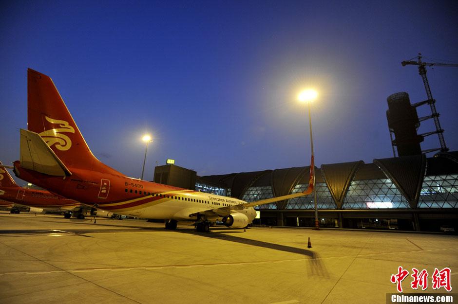 双流机场T2航站楼成功试运行-中国新闻网·四