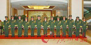 广州军区晋升4名将官 副司令邢书成升为中将(